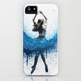 Clair De Lune Ballerina iPhone Case