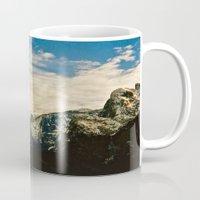 yosemite Mugs featuring Yosemite Valley  by Biff Rendar