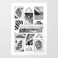 beyond time Art Print