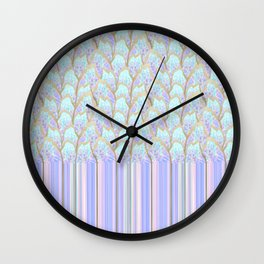 Hyper Fish-scale Wall Clock