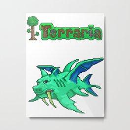 Terraria Duke Fishron Metal Print