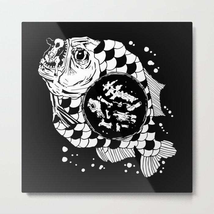Hunger the Sea Metal Print