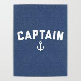 Captain Nautical Quote Poster