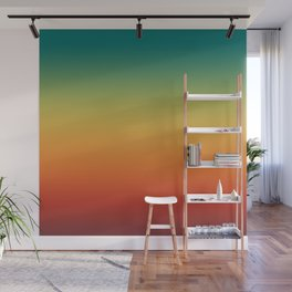 Colorful Trendy Gradient Pattern Wall Mural