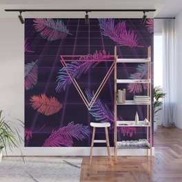 80's Retro Cyberpunk Synthwaves Dominating the Future Wall Mural