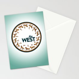 The West Medallion Stationery Cards