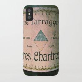 Chartreuse Green Liqueur Fabriquee par Les Peres Chartreux iPhone Case