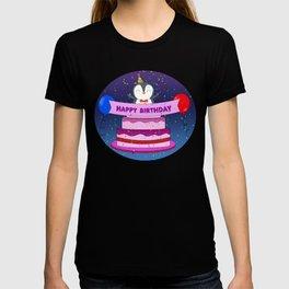 Penguin Surprise Birthday T-shirt