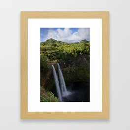 Light and Dark Framed Art Print