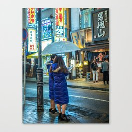 Partners in Crime Canvas Print