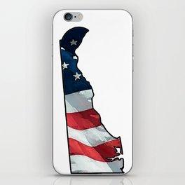 Patriotic Delaware iPhone Skin