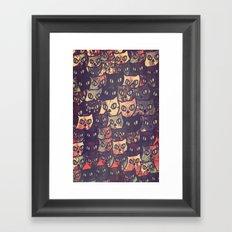 cat-227 Framed Art Print