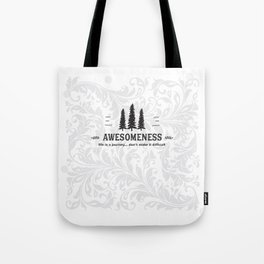 Awesomeness Tote Bag
