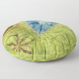 Empurples Mental Picture Flower  ID:16165-094016-44020 Floor Pillow