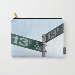 At a Crossroads Carry-All Pouch