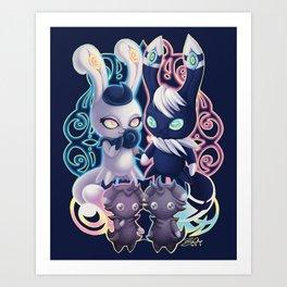 MEOWSTIC EYES Art Print