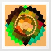 vertigo Art Prints featuring Vertigo by eff.