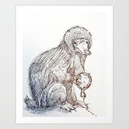 Incorrigible Niffler Art Print