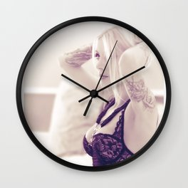 Miss 13 Manias Wall Clock