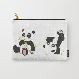 panda #society6 #decor #buyart Carry-All Pouch