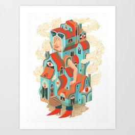 Houseman Art Print