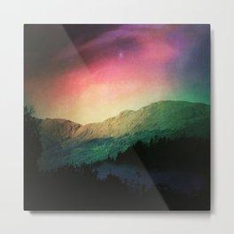 Scottish Mountains Metal Print