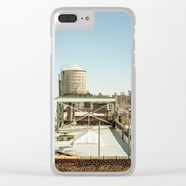 Harlem Water Tower Clear iPhone Case