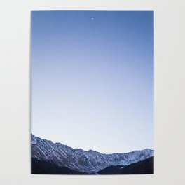 Daylight Moon Ridge Poster