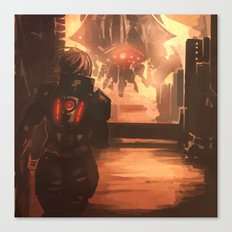 Reaper Scout Canvas Print
