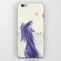 angels iPhone & iPod Skins featuring Angels by Óscar S. Cesteros