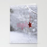 angels Stationery Cards featuring Angels by SUNLIGHT STUDIOS  Monika Strigel