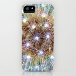 Luminous Colorful Blowball iPhone Case