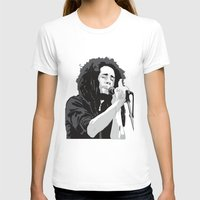 marley T-shirts featuring Marley Music by Mark Lucas