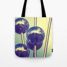 The world on balls Tote Bag