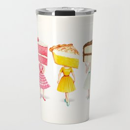 Cake Head Pin-Ups Travel Mug