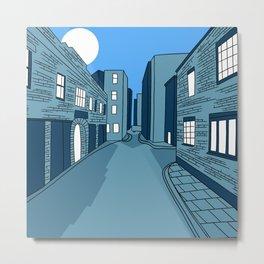 25 Durweston Street, London Metal Print