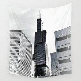 Sears Tower Chicago Wall Tapestry