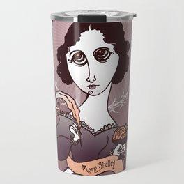 Mary Shelley Holy Writer Travel Mug