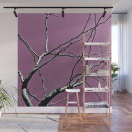 Reaching Violet Wall Mural