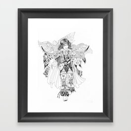 Eagle Hunter Framed Art Print