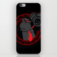 donkey kong iPhone & iPod Skins featuring Donkey Kong by La Manette