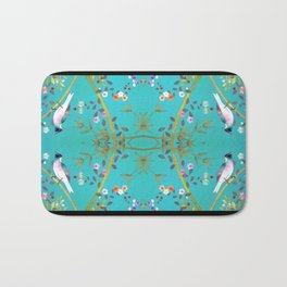 chinois 1731: turquoise  Bath Mat