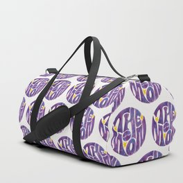 The Groovy Moon - Purple Palette Duffle Bag
