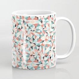 Art Deco Pinwheel Pattern Coffee Mug