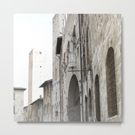 What These Walls Have Seen - Tuscany Metal Print