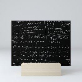 Untidy Chalk Board Mini Art Print