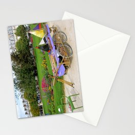 Tuileries Garden Boat Rental Stationery Cards
