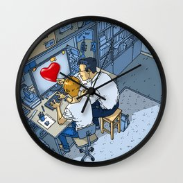Finding Love - Heart- Passionate - Lovers Wall Clock