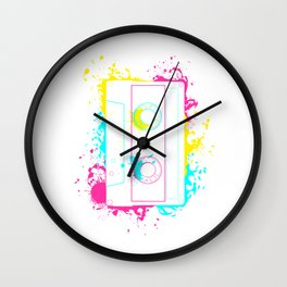80s 90s Retro Cassette Tape Vintage Mixtape Gifts Wall Clock
