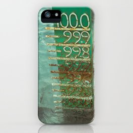 water level iPhone Case